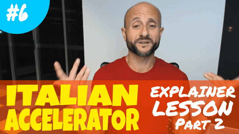 Advanced Italian Lessons