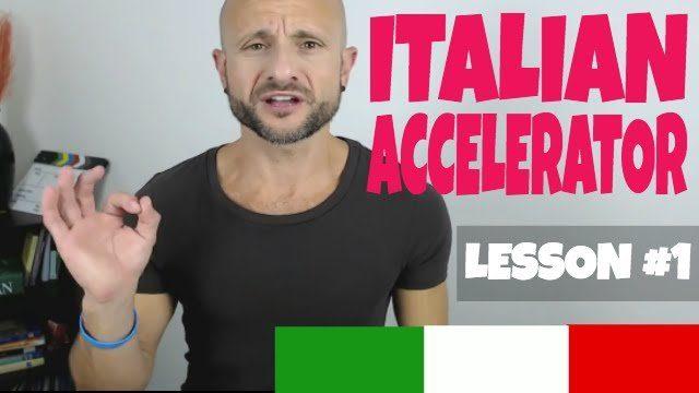Italian Accelerator Episode 1 Explainer 1