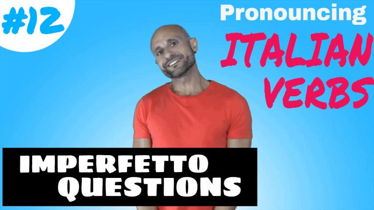 Italian Verb 12