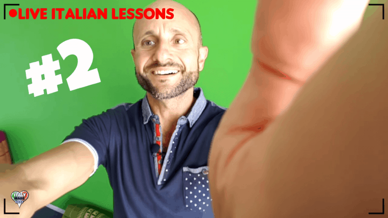 Live Italian Lessons Day 2