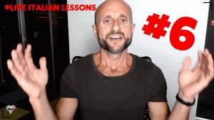 Live Italian Lesson - Italian Pronunciation Game (video in Italian)
