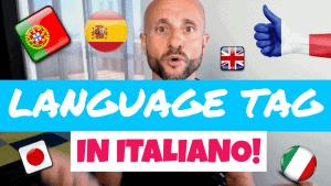 Language Tag in Italian