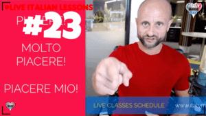 Live classes 23
