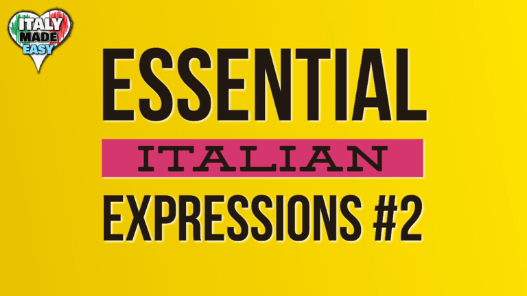 Essential Italian Expressions 2