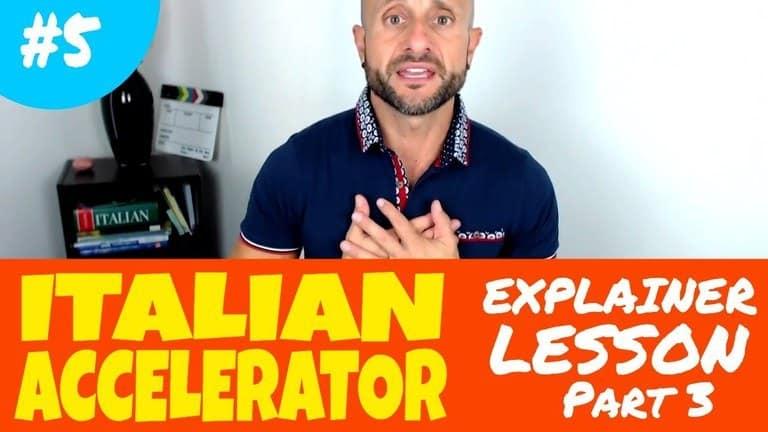 Italian Accelerator Episode 5 - Explainer 3