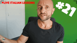 Live Italian Lesson 21