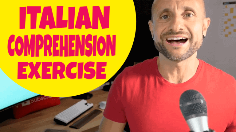 Italian Comprehension Exercise 01