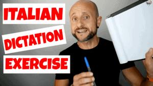 Italian Dictation Exercise #1