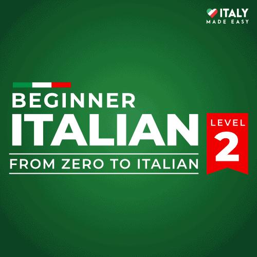 Beginner Italian Level 2