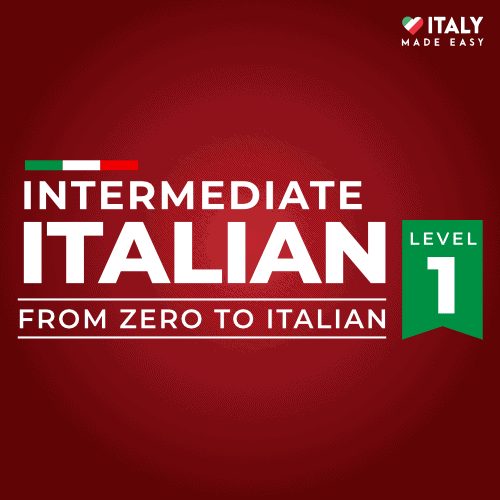 Intermediate Italian Level 1