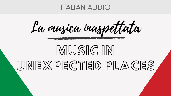 Music in Unexpected places