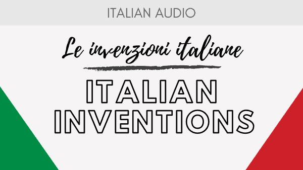 Italian Inventions
