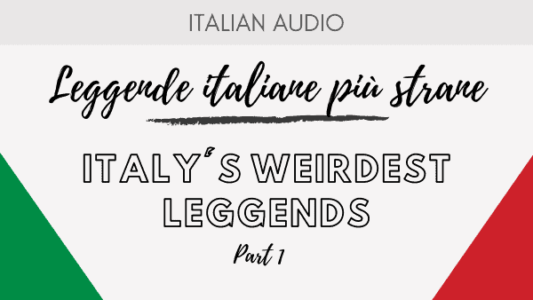 Italy's weirdest legend Part 1