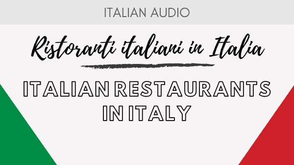 Italian restaurants in Italy