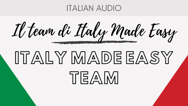 Il Team di Italy Made Easy