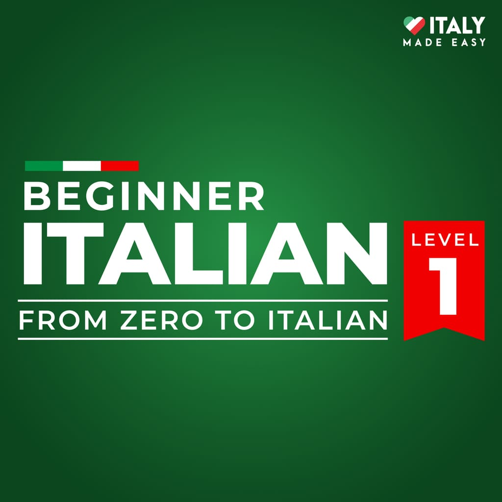 Beginner Italian Level 1 - Cover Course