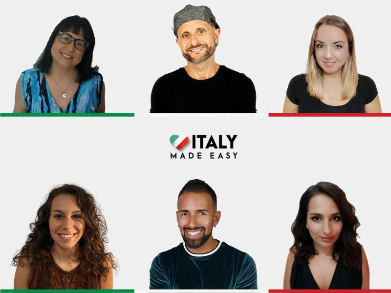 Italy Made Easy Team