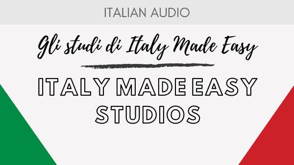Italy Made Easy Studios