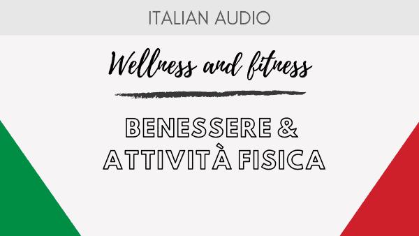 Benessere e attività fisica - Podcast Cover