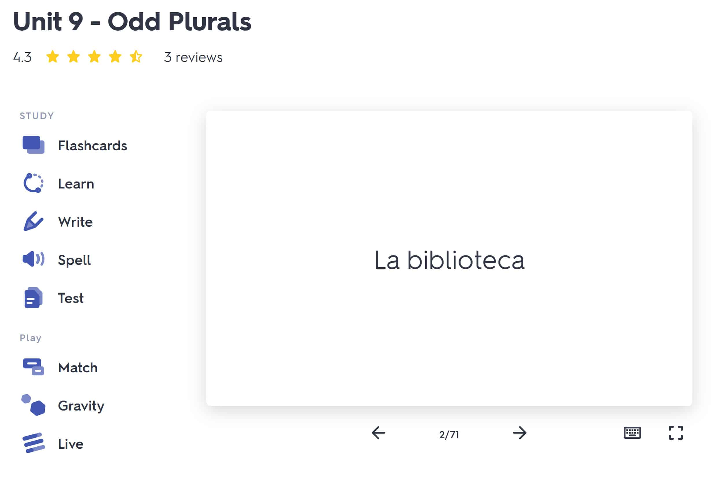 Quizlet Screenshot